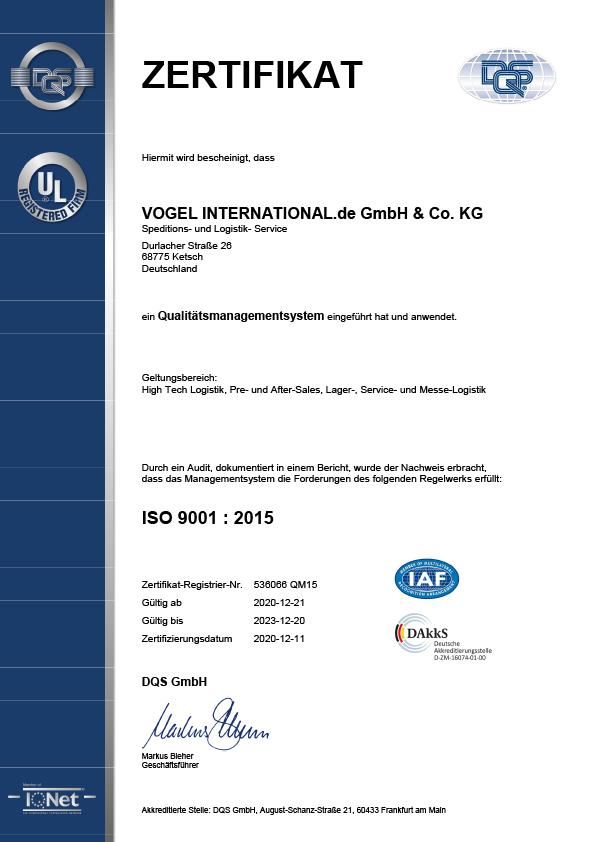 Zertifikat Bis 2023 Deutsch